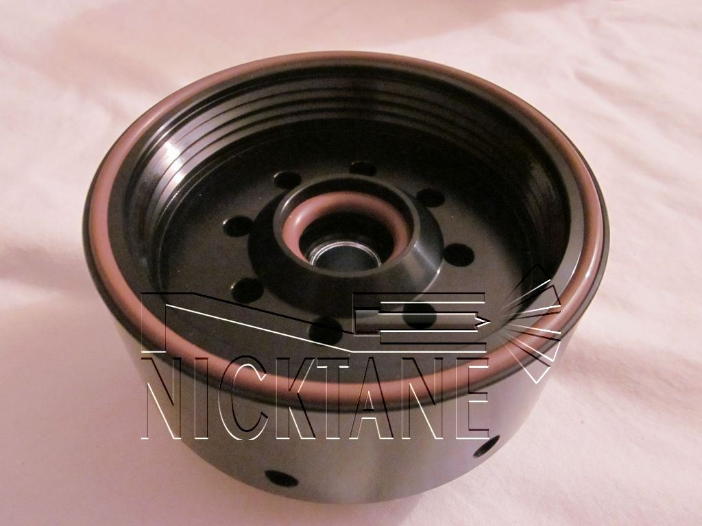 Billet Aluminum Filter Adapter Nicktane Diesel Duramax Fuel Heater