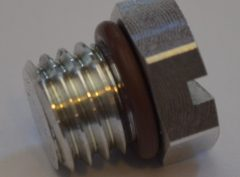 Duramax Fuel Filter Aluminum Bleed Screw