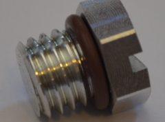 Duramax Fuel Filter Aluminum Bleed Screw
